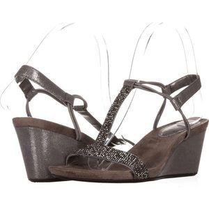 8.5 Style & Co. Open Toe Platform Sandals